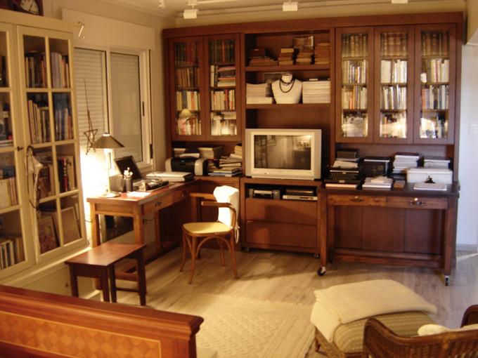 Sala De Estar Com Home Office ~ Home Office  Roca Móveis